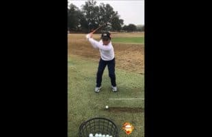 Swing Flaws Slow Motion