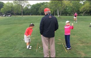 Matt and Sayers Chipping Practice